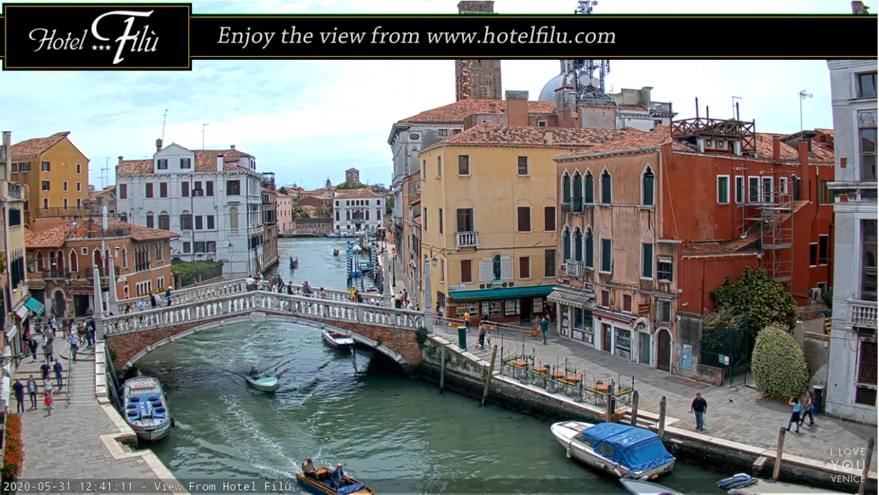 The most beautiful Cam in Venice