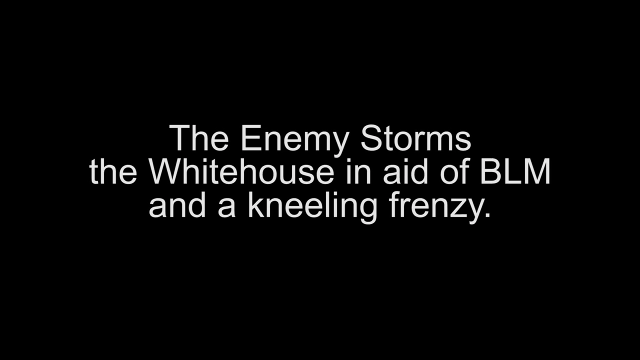 BLM Storm The Whitehouse as the Kneeling Epidemic Sweeps the Nation 18-6-2020