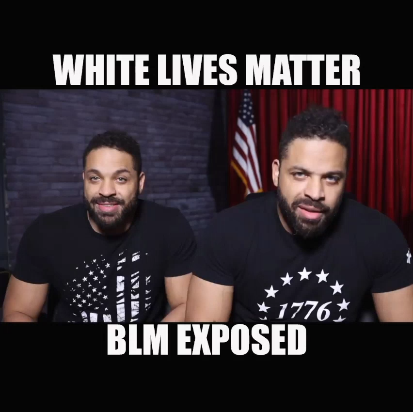 White Lives Matter & Black Lives Matter Exposed