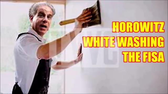 DOUBLE BILL: HOROWITZ WHITE WASHING THE FISA + GHISLAINE MAXWELL PLANS 'TELL ALL' INTERVIEW?