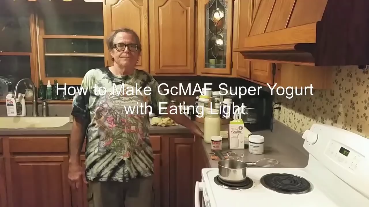 How to Make GcMAF at Home