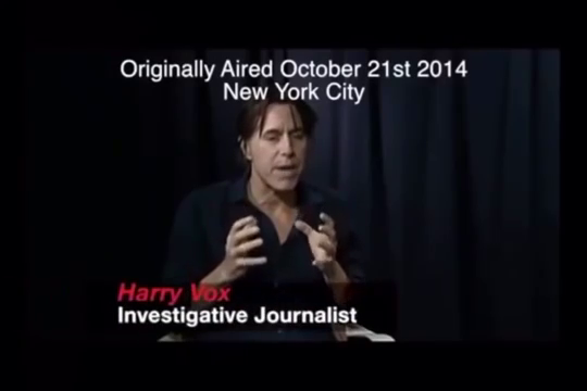 Investigative journalist Harry Vox warns against coming lock downs & quarantines in 2014