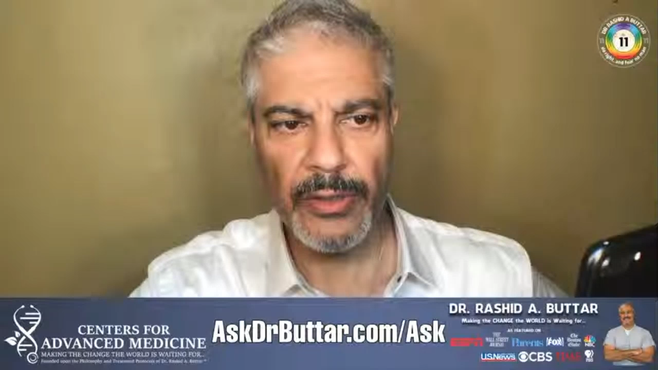 Livestream With Dr. Rashid A Buttar 9-6-2020