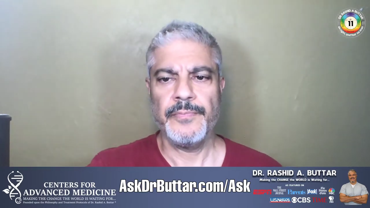 Livestream With Dr. Rashid A Buttar 22-6-2020