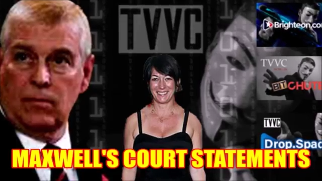 NEW: MAXWELL'S COURT STATEMENTS