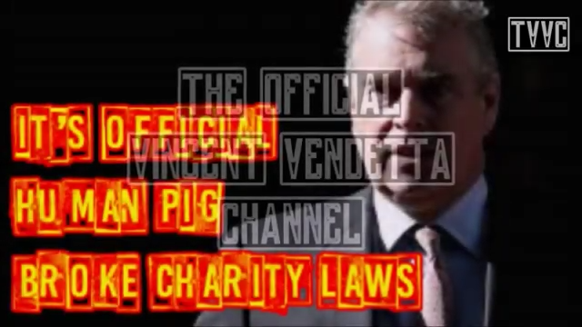 PRINCE ANDREW: IT'S OFFICIAL HUMAN PIG BROKE CHARITY LAWS!