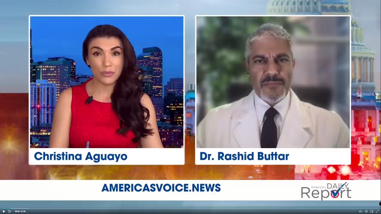 Part 6 of the 7 Part Video Series Christina Aguayo with Americas Voice News Dr Rashid A Buttar