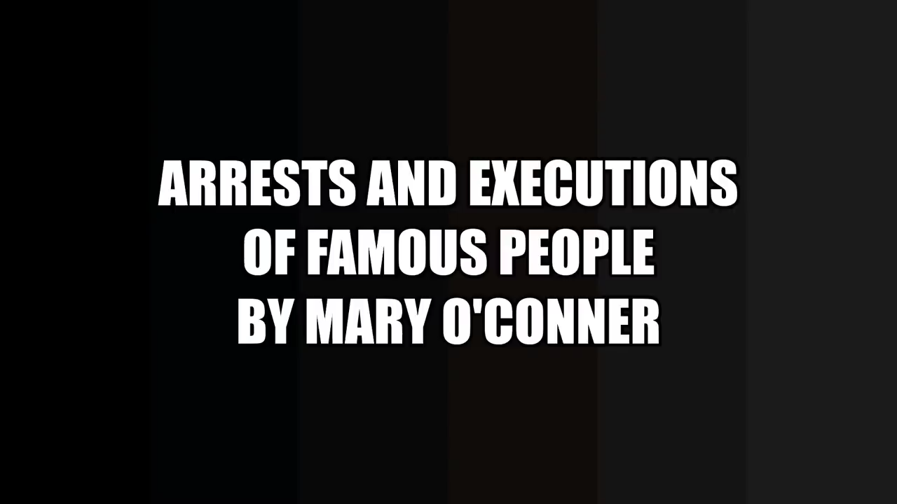 The Arrests & Executions Of Famous People 2020 Has Started 27-6-2020