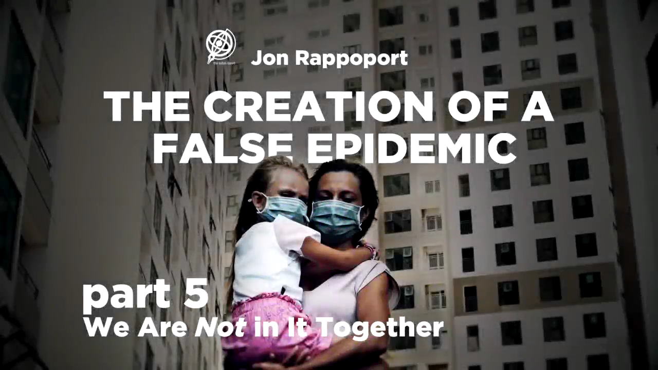 The Creation of a False Epidemic Part 5 We are NOT in It Together