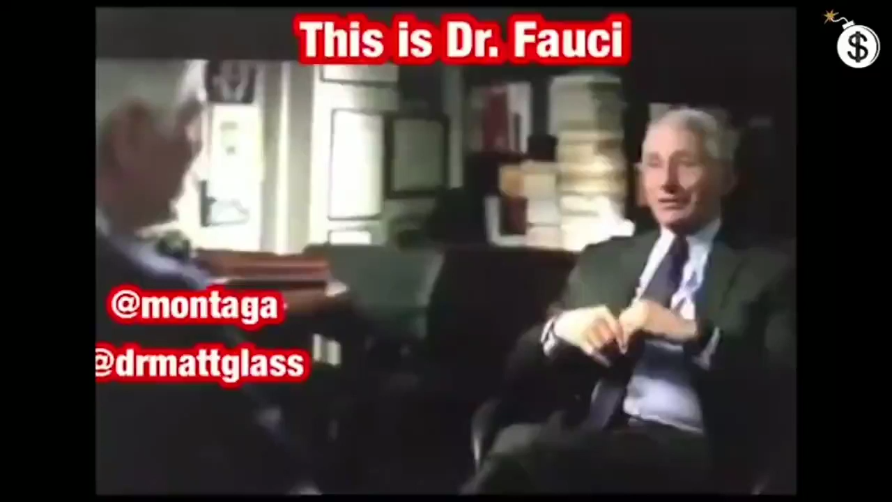 Dr Fauci Says DON'T WEAR A MASK