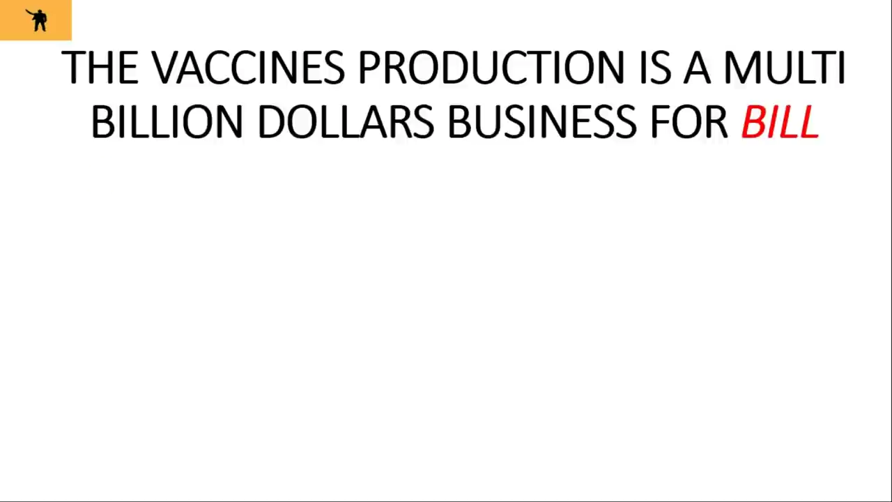 THIS IS HOW MUCH BILL GATE MAKES FROM VACCINES 26-7-2020