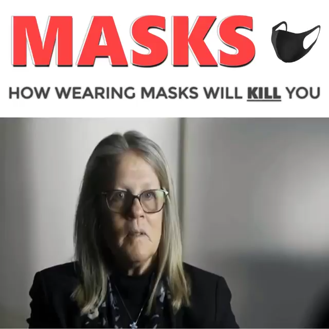 How wearing masks will kill you 5-8-2020