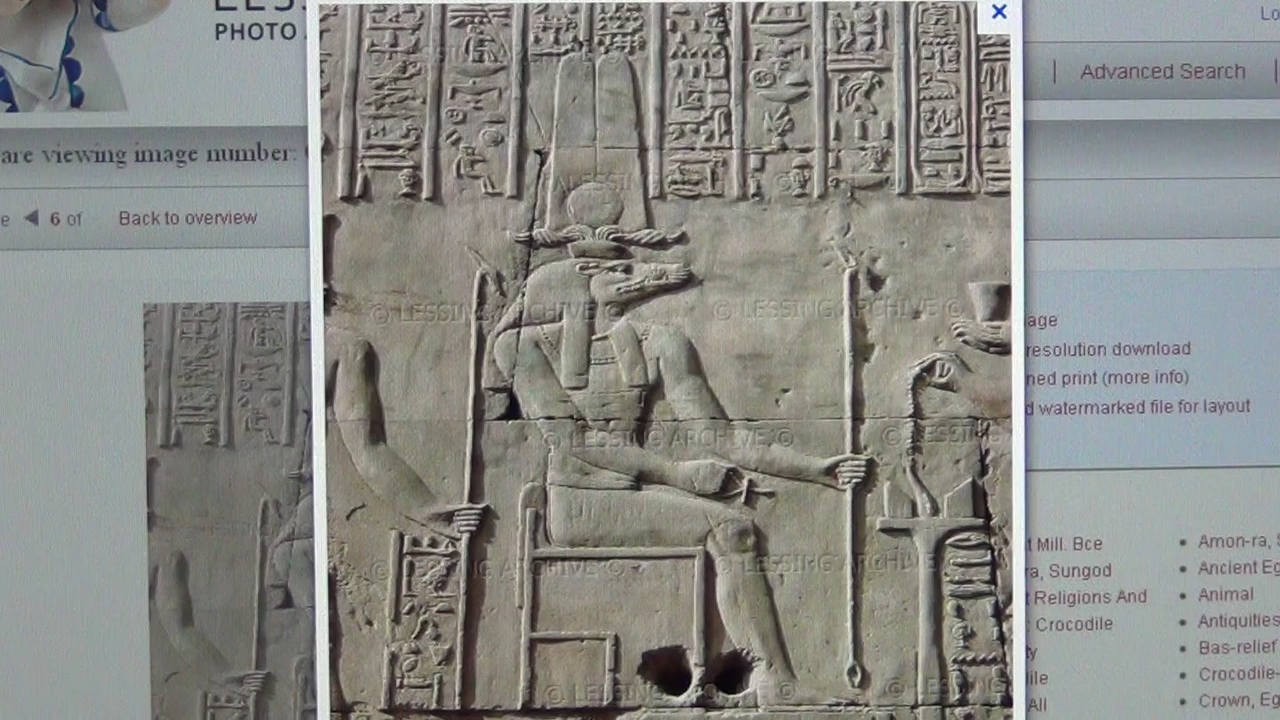 Messiah MSSH means Lizard King in Demotic Pharaonic, Serpent Religion, Reptilians & Sobek 23-11-2012