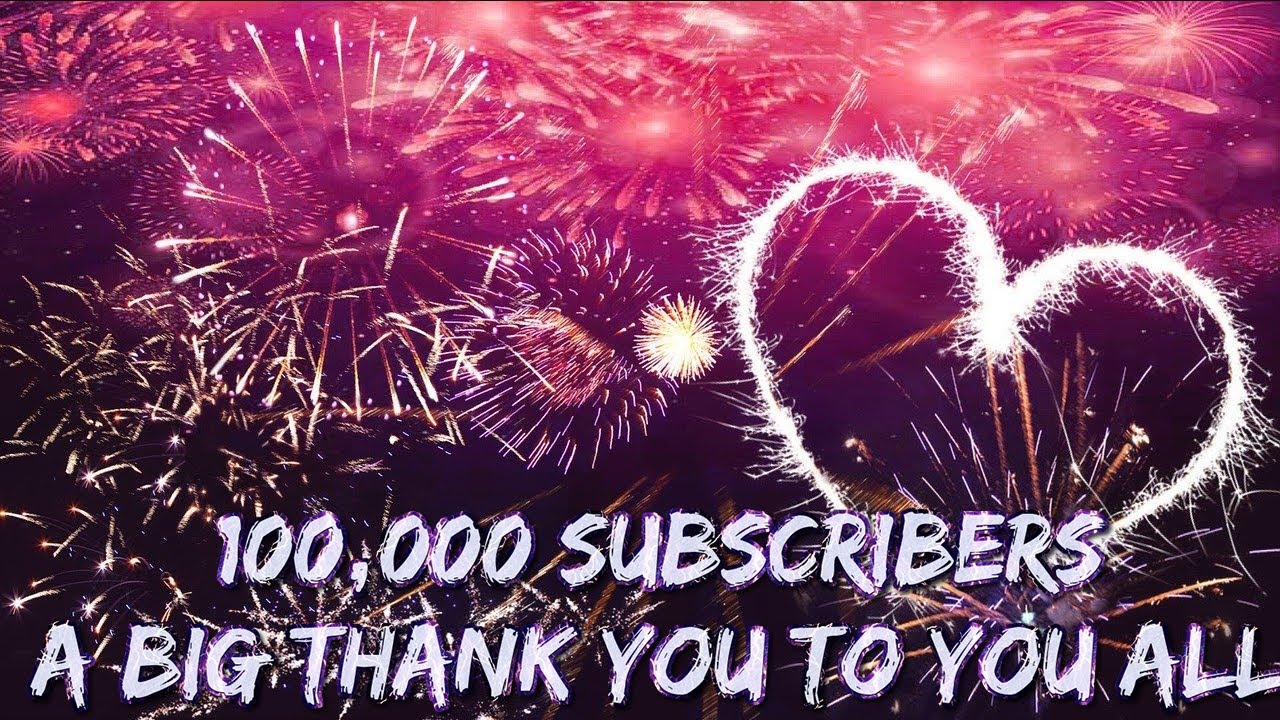 100k Subscribers Thank You Very Much Lee Dawson and Lee Hemington 12-8-2020