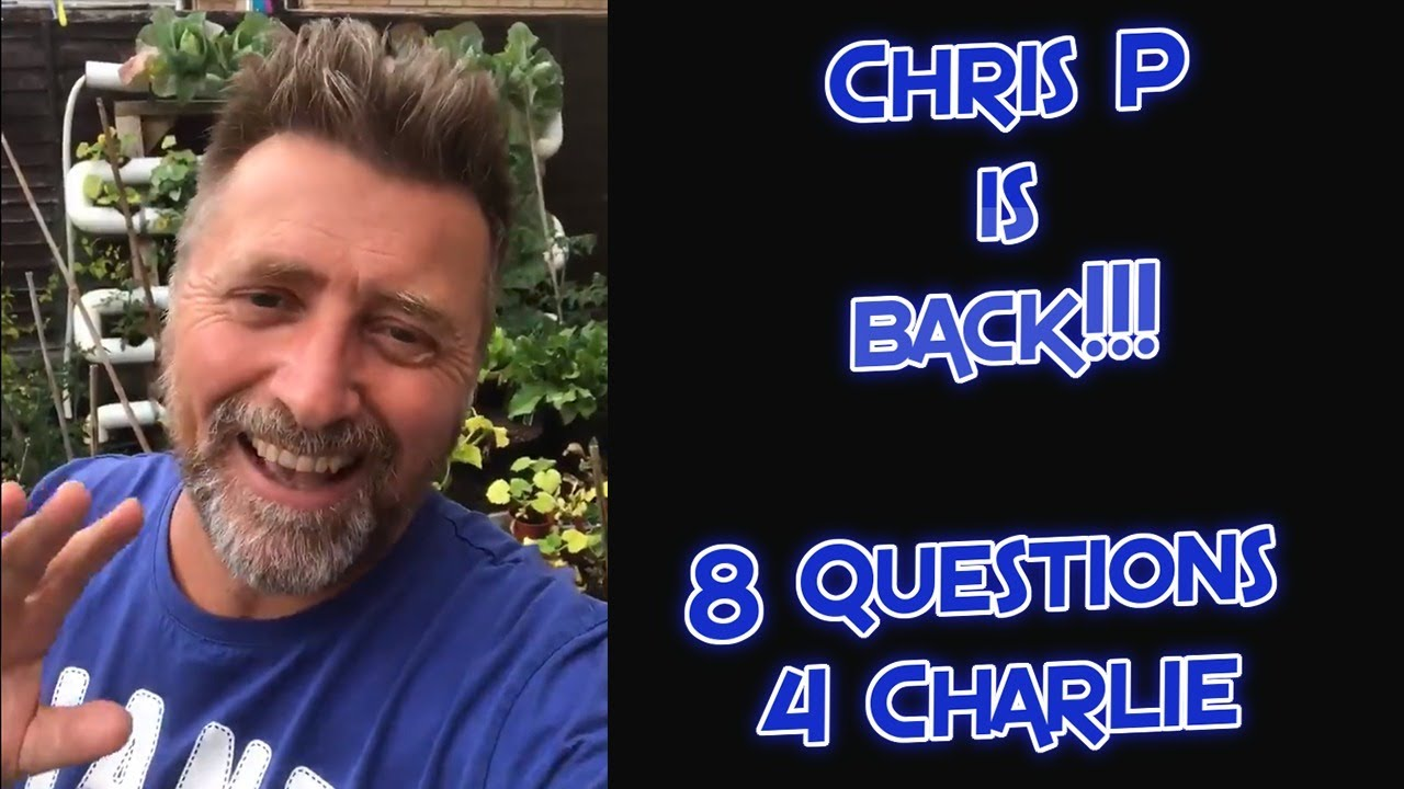8 Questions with the Twitter Sensation Chris Pomfret 19-8-2020
