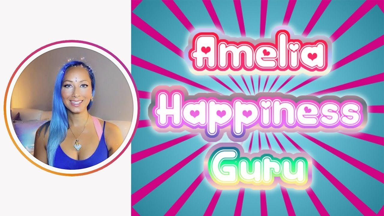 Amelia Happiness Guru live on Instagram with Charlie Ward 13-8-2020