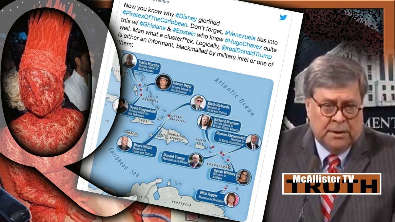 """CELEB OWNED Islands NEAR EPSTEIN! CUE POSTS= """"Conspiracy To DEFRAUD""""! Democrat Dumpster Fire! 20-8-2020"""