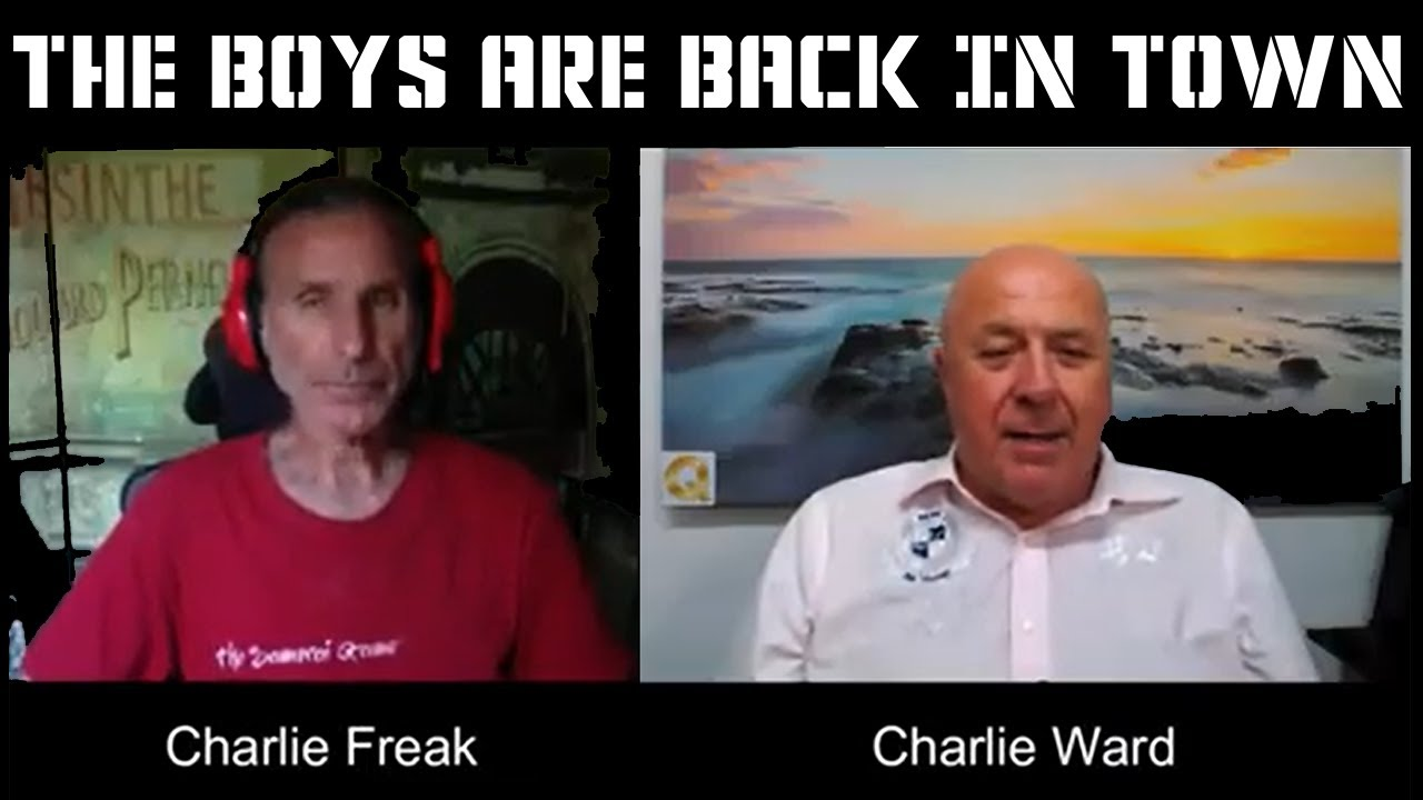 Charlie Freak and Charlie Ward Discuss The Current Situation 15-9-2020