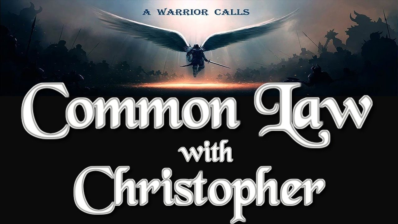 Christopher James Discusses Common Law with Charlie Ward (Reload) 28-8-2020