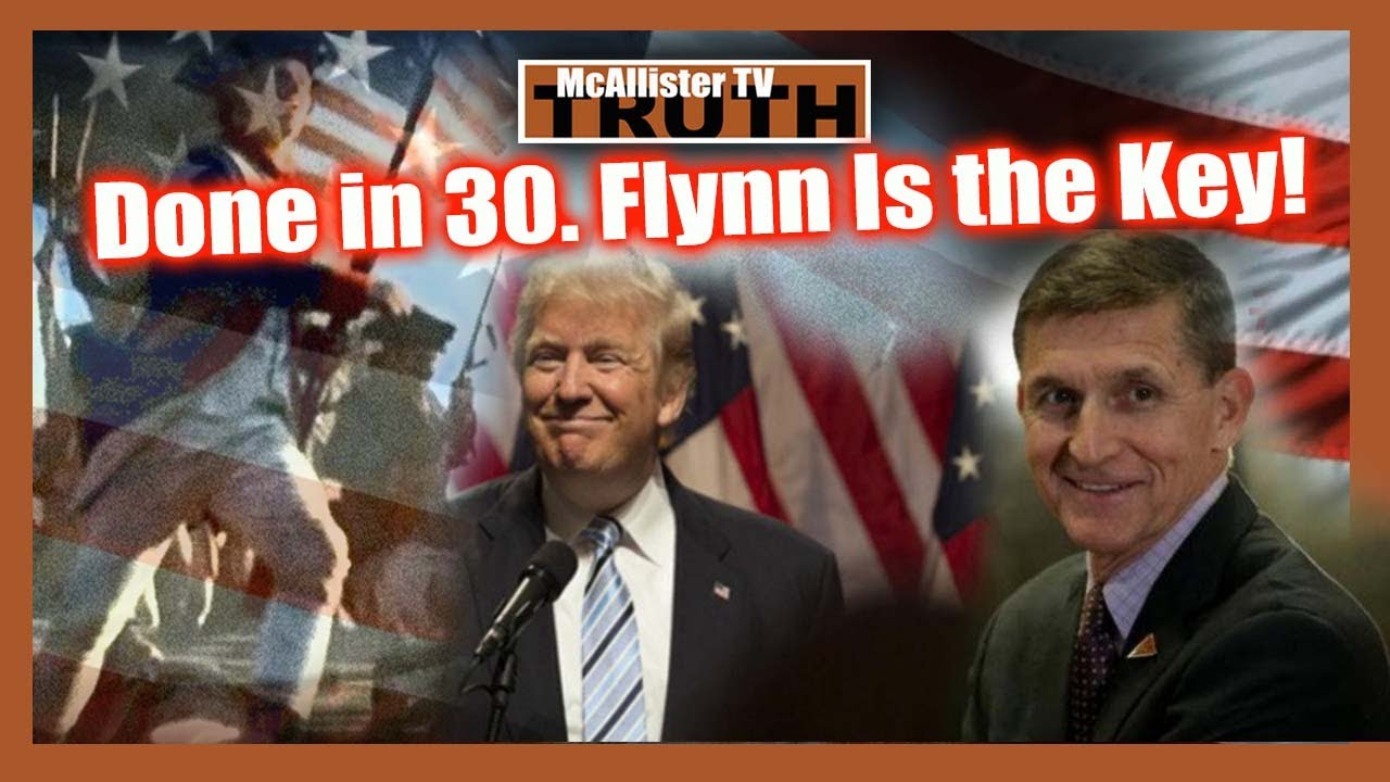 DONE IN 30!!! The Health RISKS of Masks! WH SHOOTER! FLYNN IS THE KEY! PANIC!!! 11-8-2020