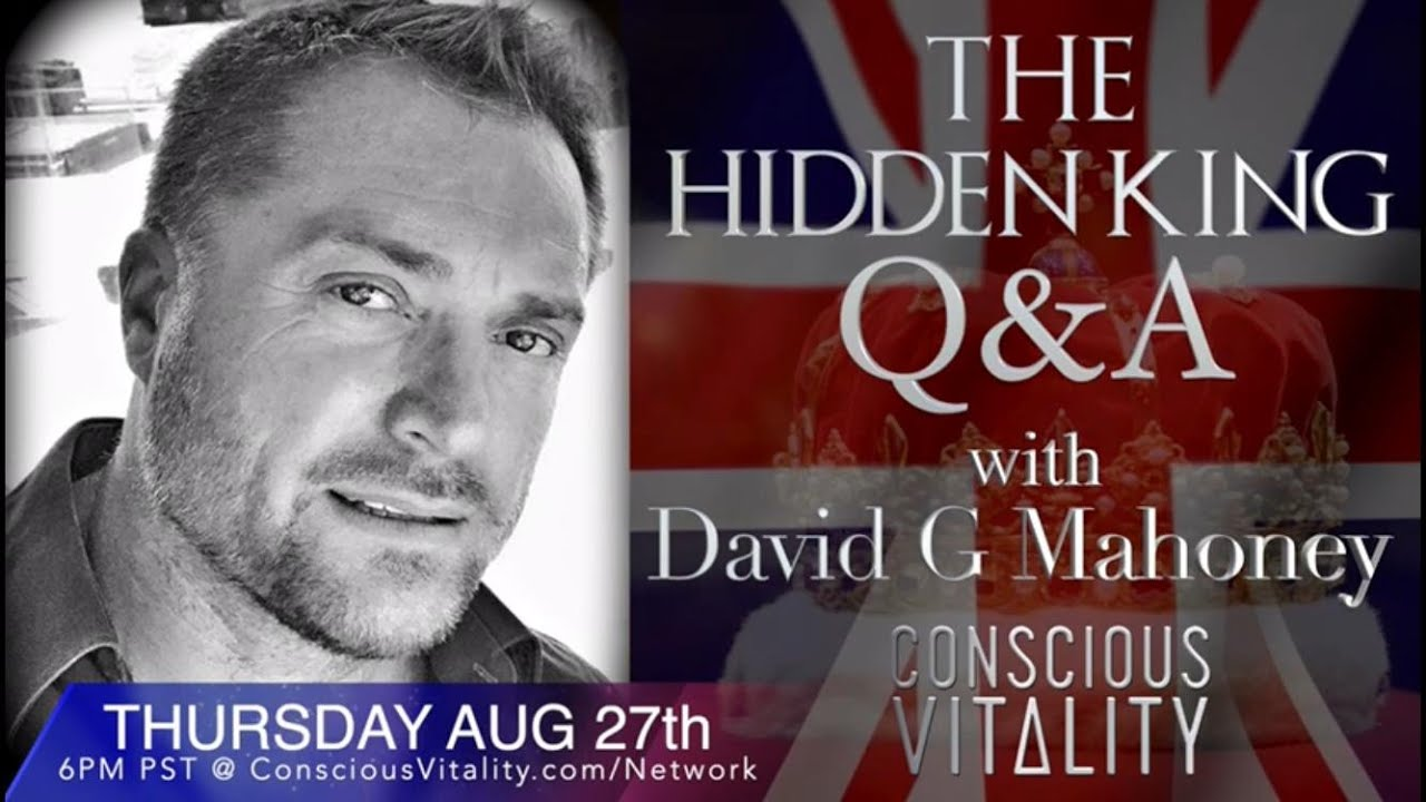 David G Mahoney (The Hidden King Q&A) 27-8-2020