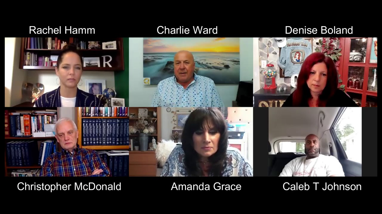 Denise Boland & Caleb T Johnson With Rachel Hamm, Christopher McDonald, Amanda Grace & Charlie Ward 2-9-2020