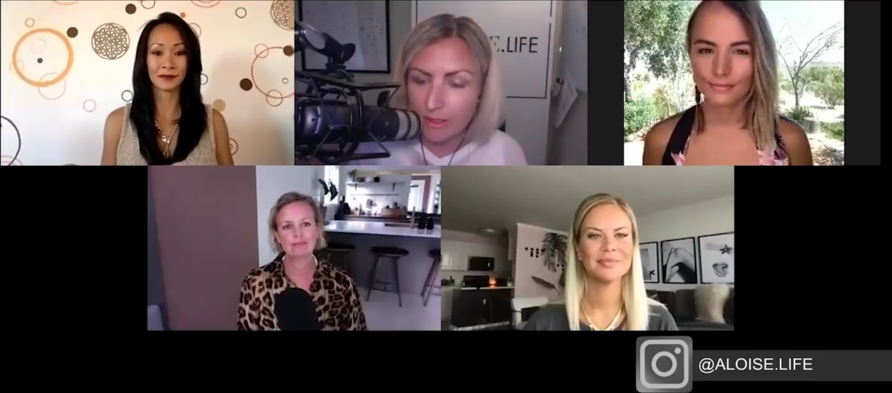 Divine Feminine Round Table Talking About Surviving and THRIVING in These Current Times 22-6-2020