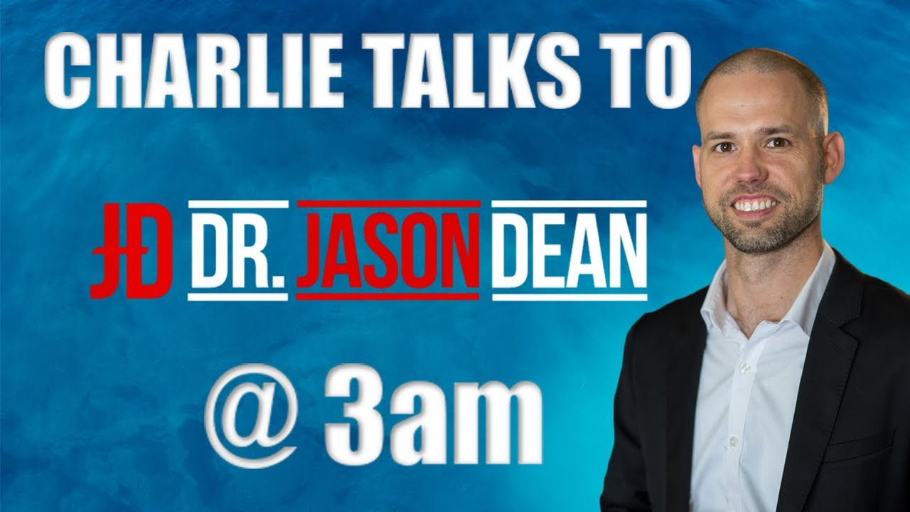 Dr Jason Dean from The Revolution Network goes Live with Charlie Ward 27-8-2020