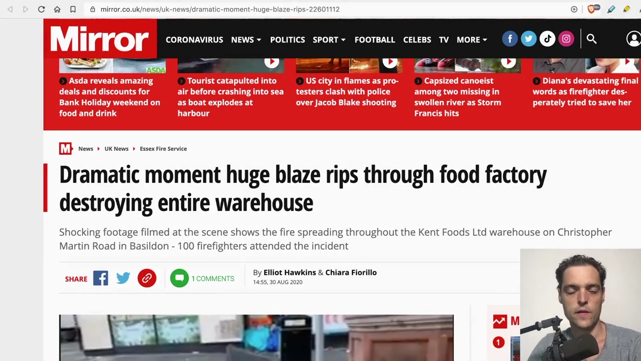 Food Supply Spontaneously Combusting! Controlled Demolition of Supply Chain 31-8-2020