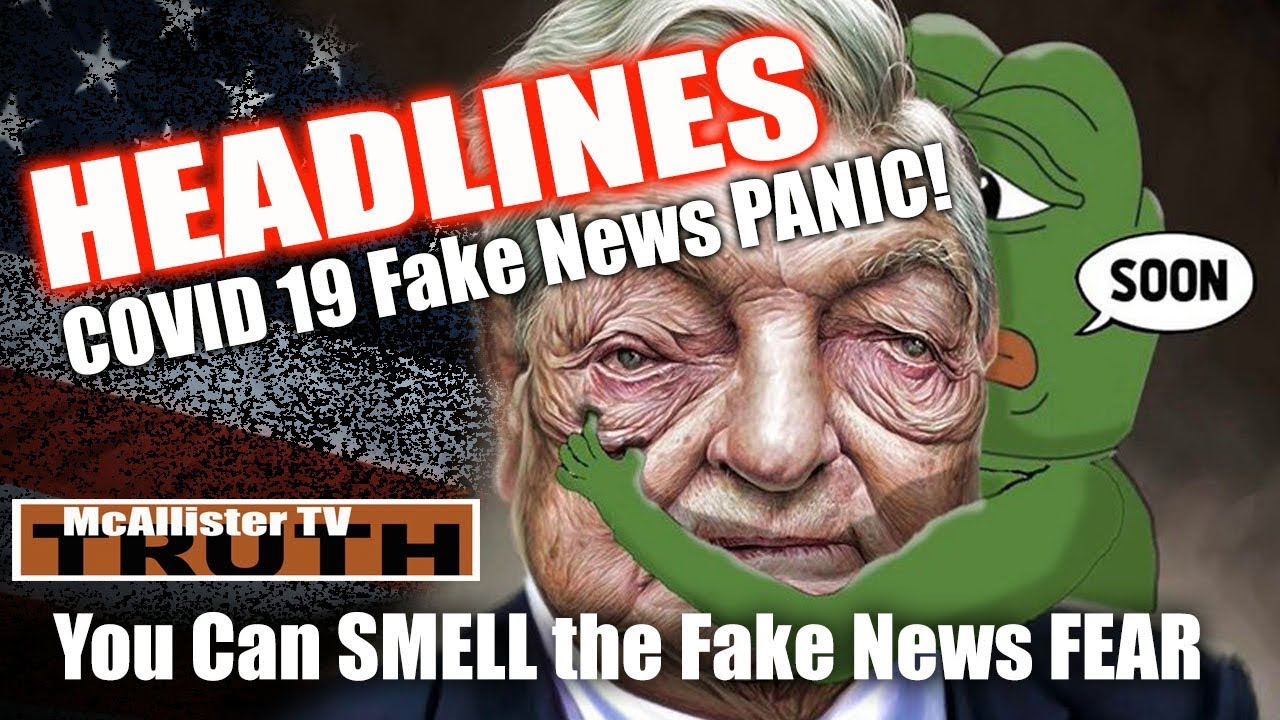 HEADLINES: You can see the FAKE NEWS PANIC! More Nazi Bell! POTUS Past Rally Clues! 16-3-2020