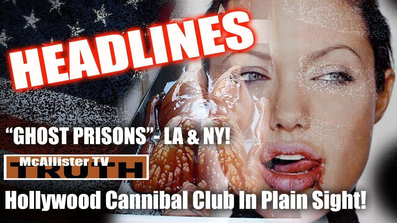 Hollywood BLOOD LUST! Ghost PRISON-Barges – NY & LA? Sleeper Cells? RUDY-Weiner Laptop! 27-3-2020