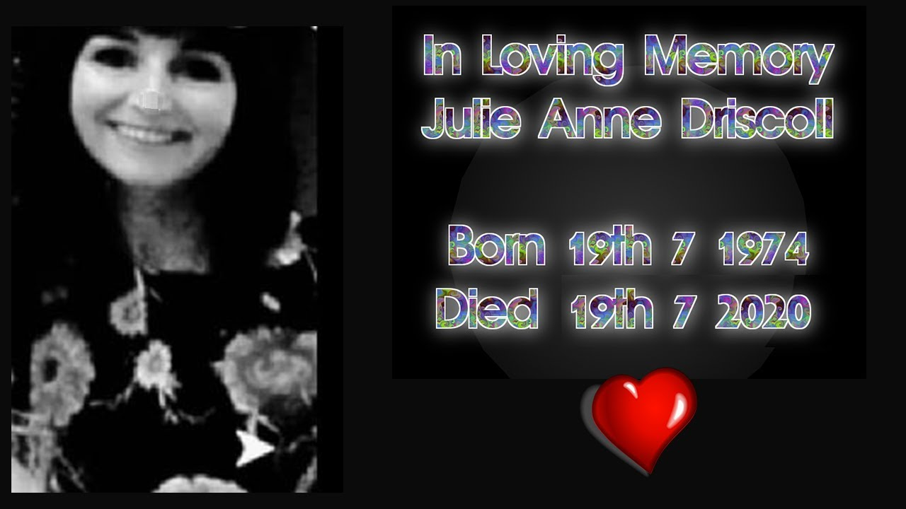 Jamie BubsQ discusses the tragic loss of his Sister Julie Anne Driscoll 23-8-2020