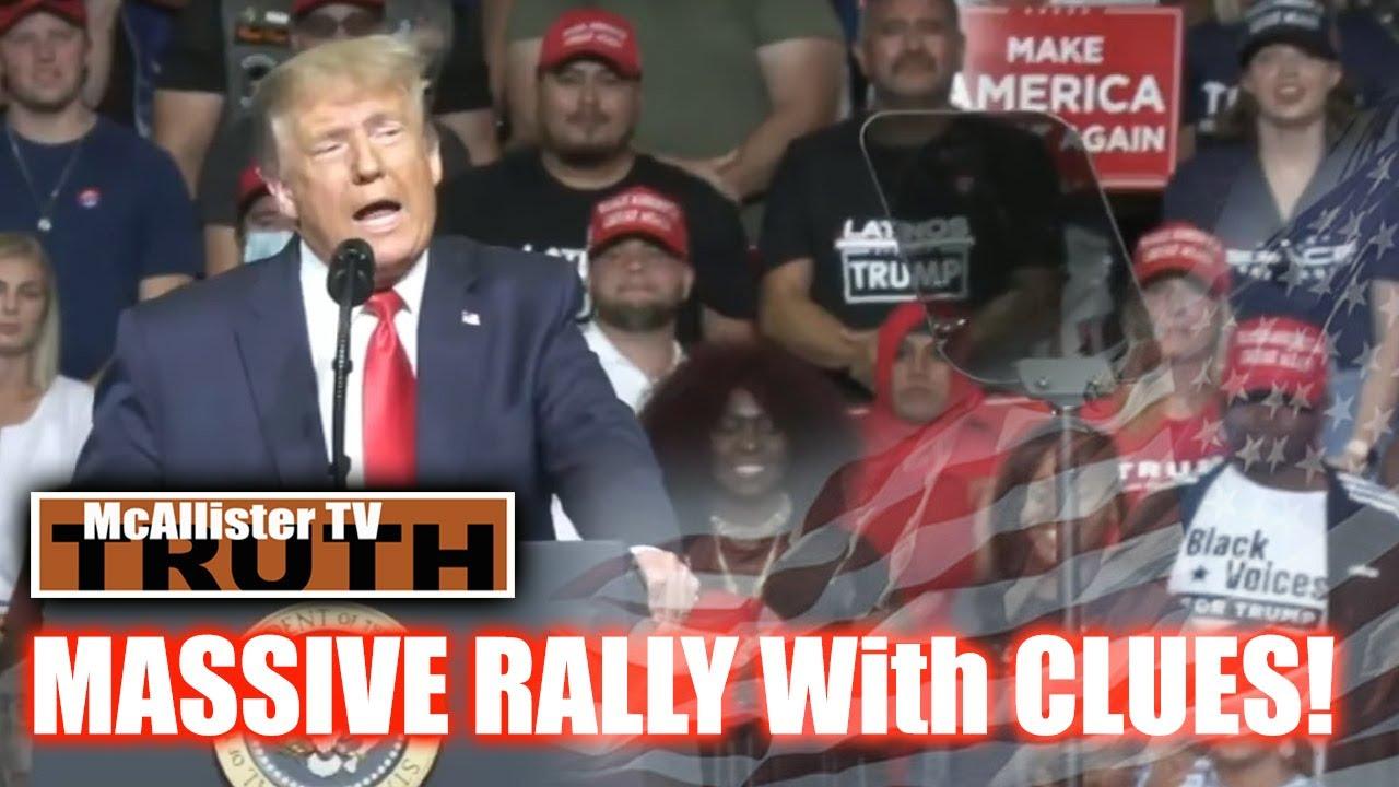 Loomer Gender Issues! POTUS Rally Clues! Hello GEORGE 23-6-2020
