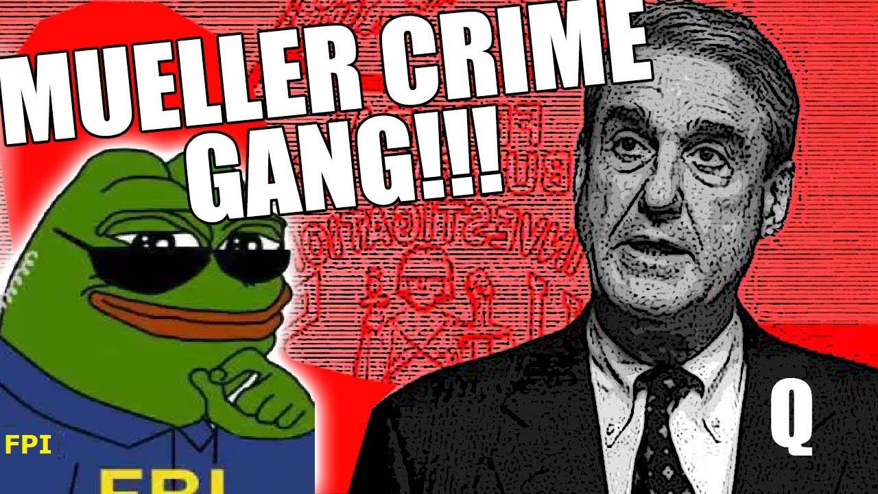 MUELLER CRIME GANG!!! PAID FOREIGN AGENT??? MURDER, TREASON & BLACKMAIL!!! 4-1-2020