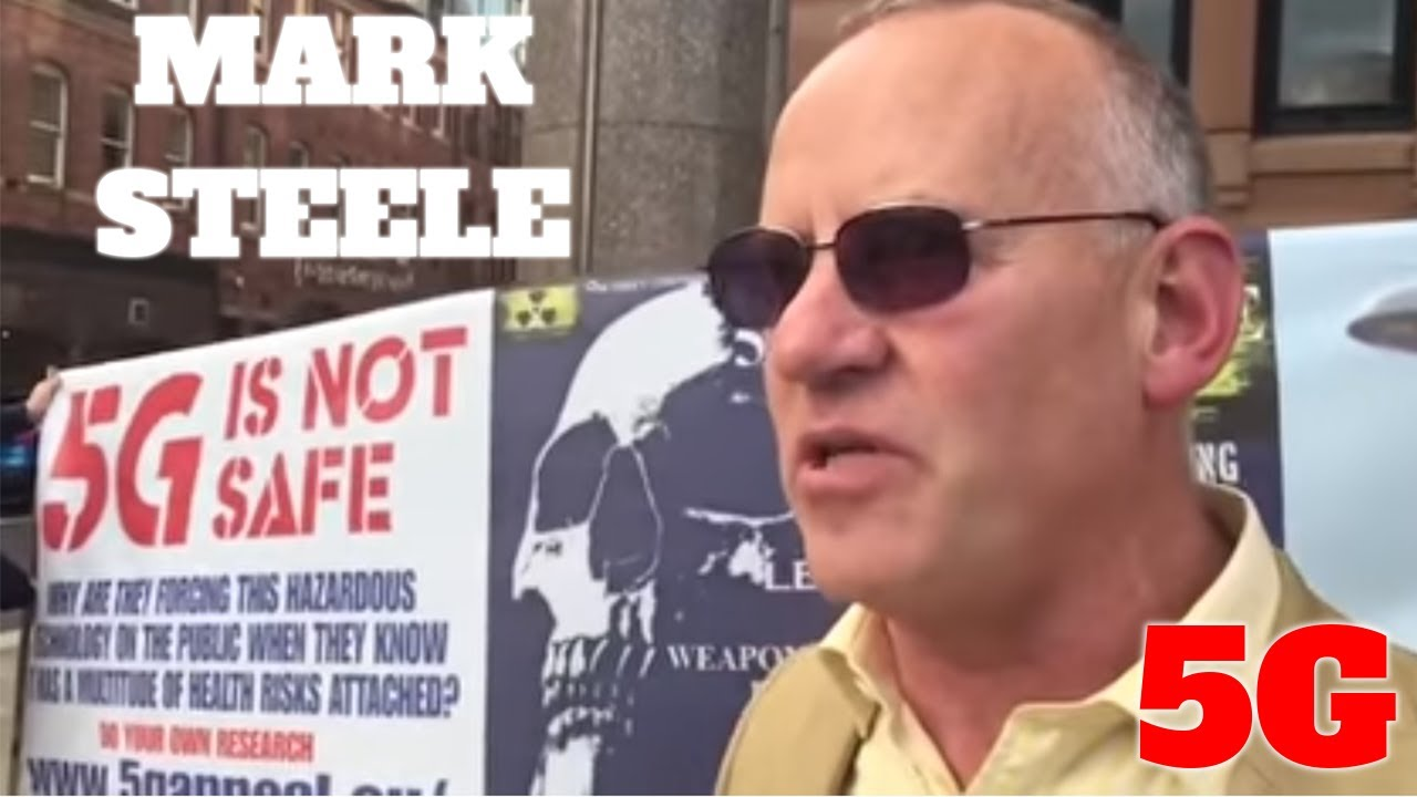 Mark Steele The Truth about 5G, schools, and the future! With Charlie Ward 12-9-2020