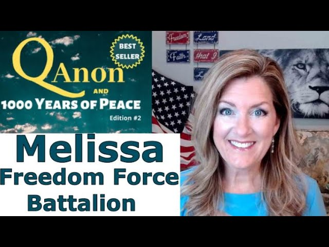 Melissa Freedom Force Battalion THIS IS BIBLICAL with Charlie Ward 11-9-2020