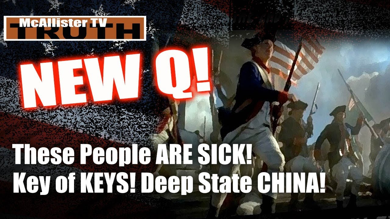 NEW Q! Deep State CHINA! SpyGate Apocolypse! THESE PEOPLE ARE SICK! 24-3-2020