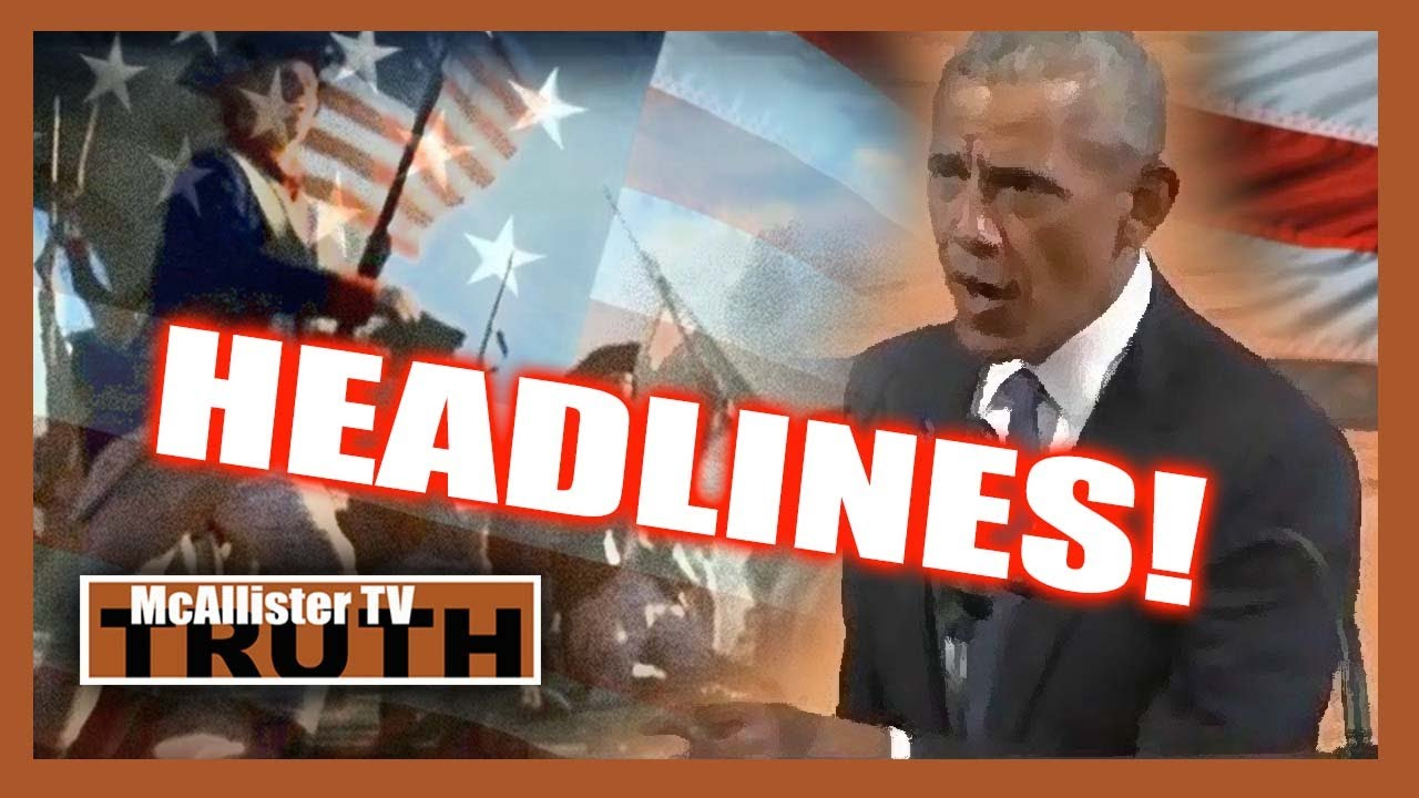 NEWS UPDATE! Grey Haired Obama OOZES PANIC! RogueGovs & Congress Play DICTATORS! 31-7-2020