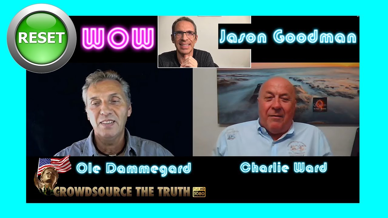 Ole Dammegard, Jason Goodman & Charlie Ward discuss the Financial Reset & what's in store! 22-6-2020
