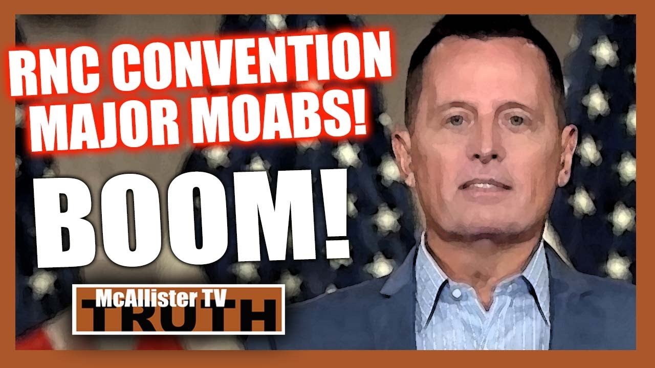 """RNC GRENELL MOABS DROPPING! """" A Plane Load Of CASH In The Middle Of The Night""""! 27-8-2020"""