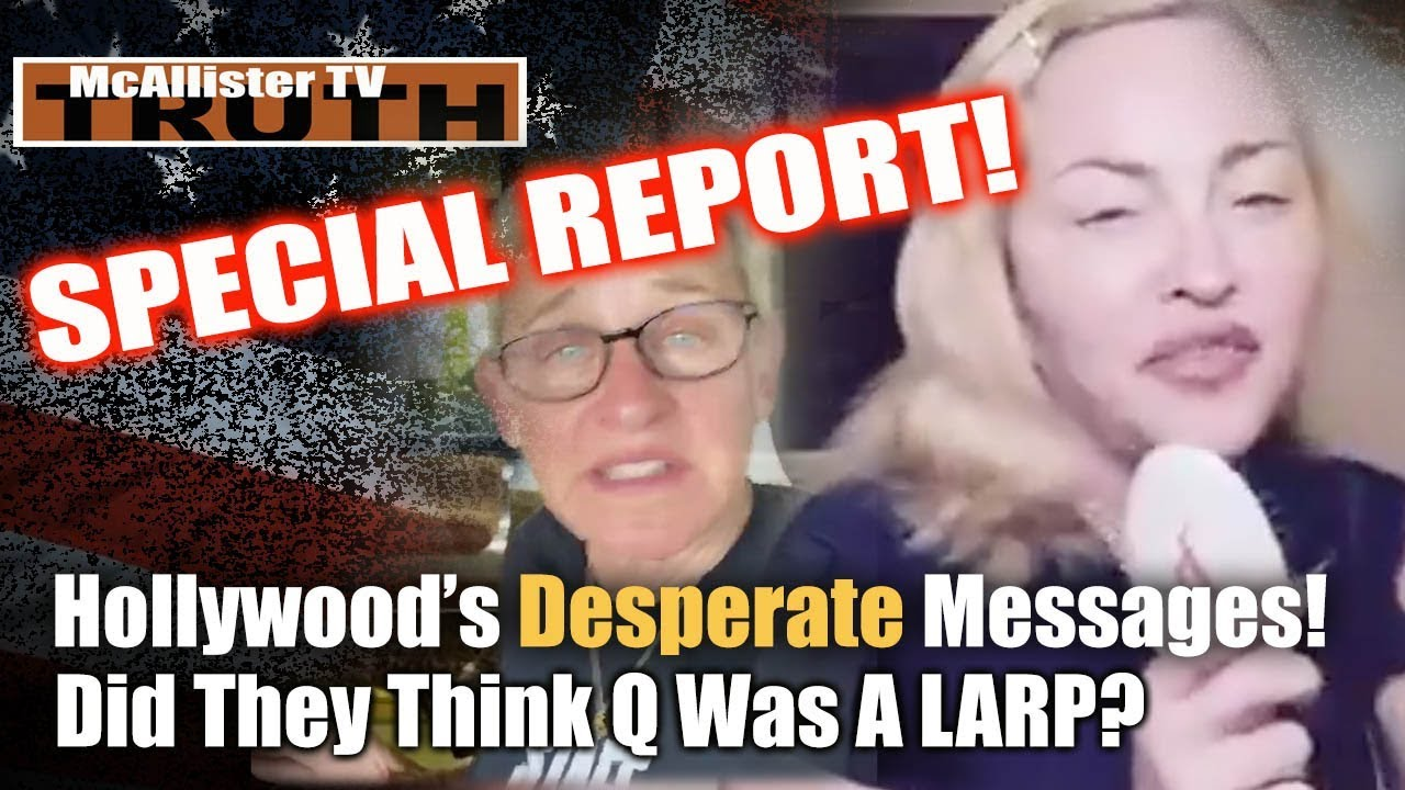SPECIAL REPORT: New Q Post! MAJOR Panic! Desperate Messages! Hollywood Running! 22-3-2020