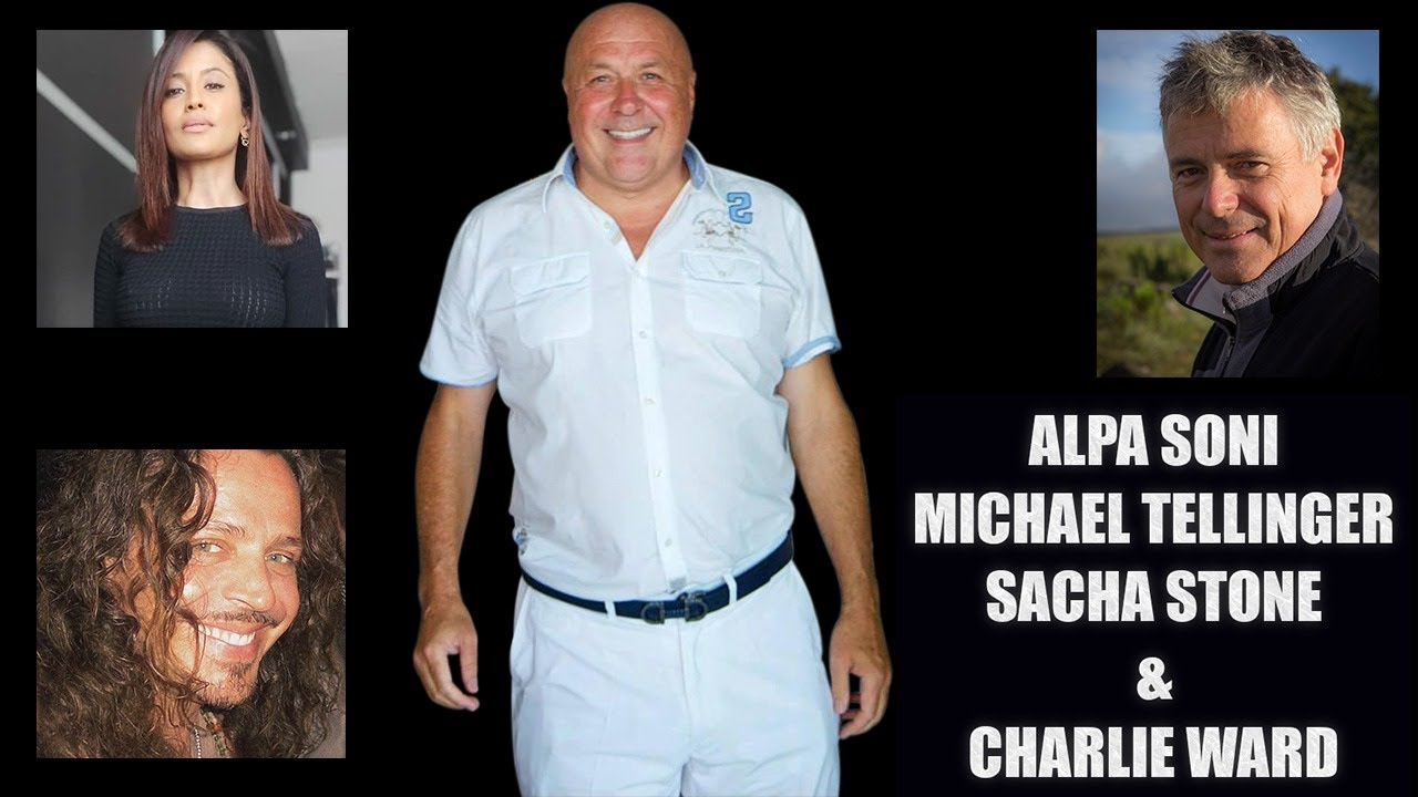 Sacha Stone, Michael Tellinger and Alpa Soni Join Charlie Ward to Discuss The Truth 31-8-2020