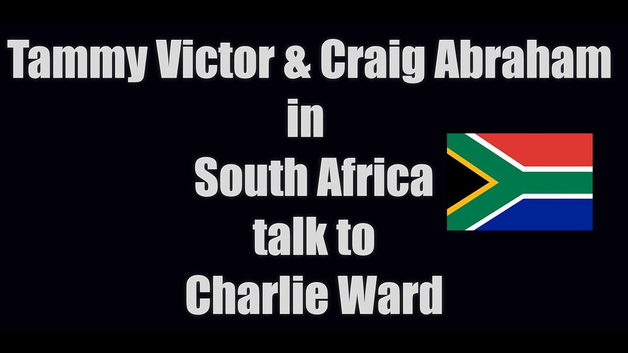 Tammy Victor & Craig Abraham (South Africa) talk to Charlie Ward 21-8-2020