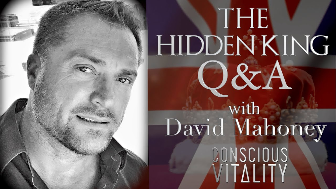 The Hidden King Q&A with Dave Mahoney (Conscious Vitality) 28-8-2020