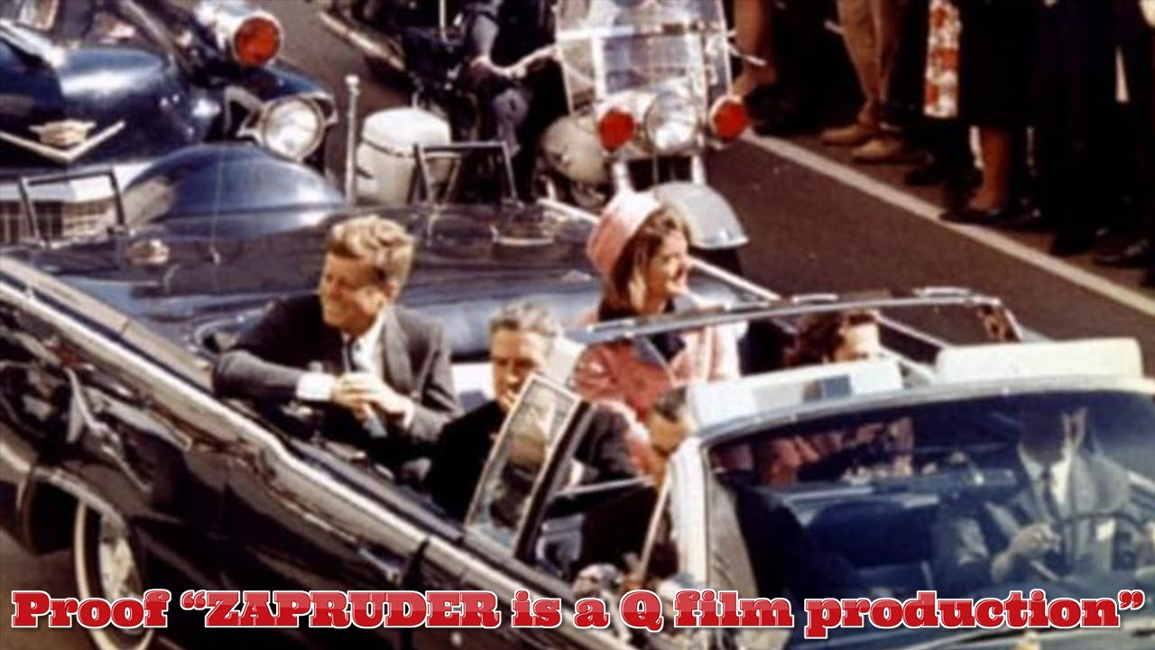 ZAPRUDER = 109 SEVENTEEN = 109.. it's a Q film production… 📽🎞PROOF part 2… JFK is alive… 23-9-2020