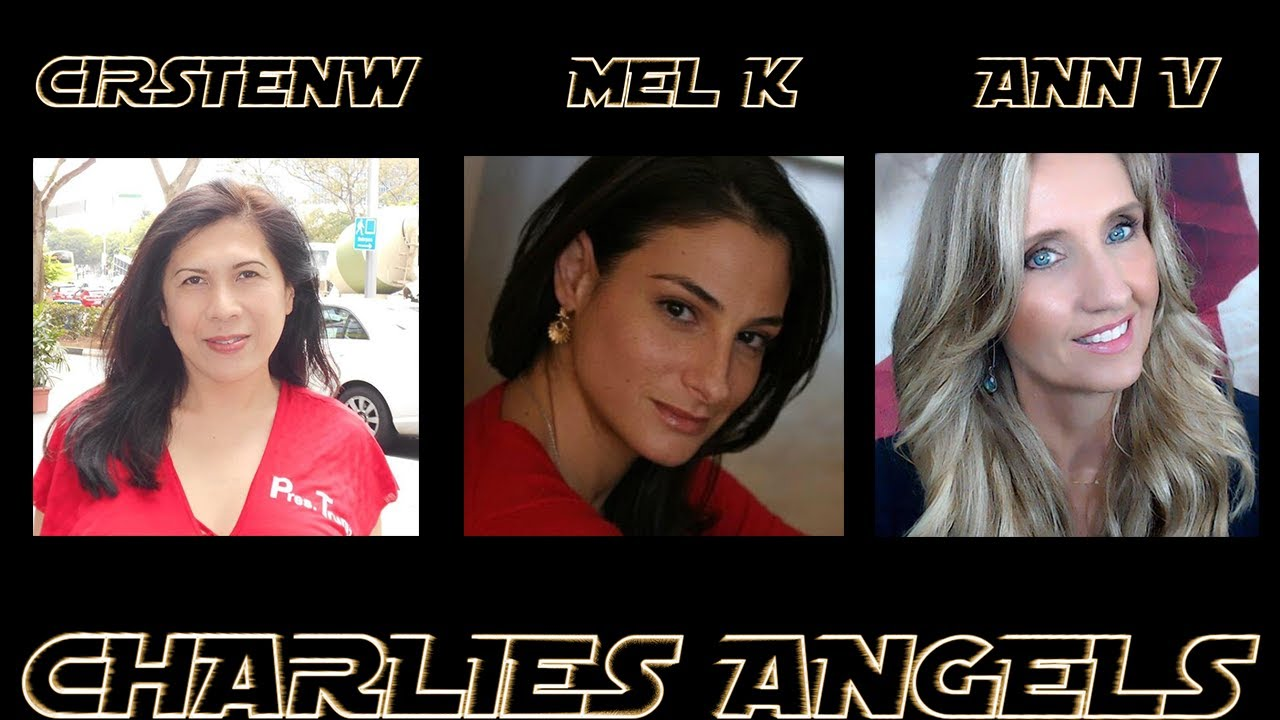 CirstenW Ann Vandersteel and Mel K are Charlies Angels That Friday Feeling — part 2 💥💥💥 2-10-2020