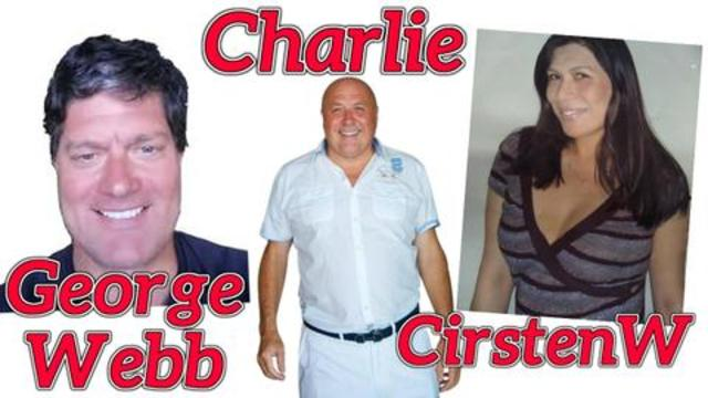 CirstenW and George Webb Talk to Charlie Ward 17-10-2020