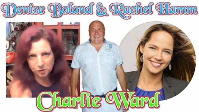 Denise Boland and Rachel Hamm talk to Charlie Ward 10-10-2020
