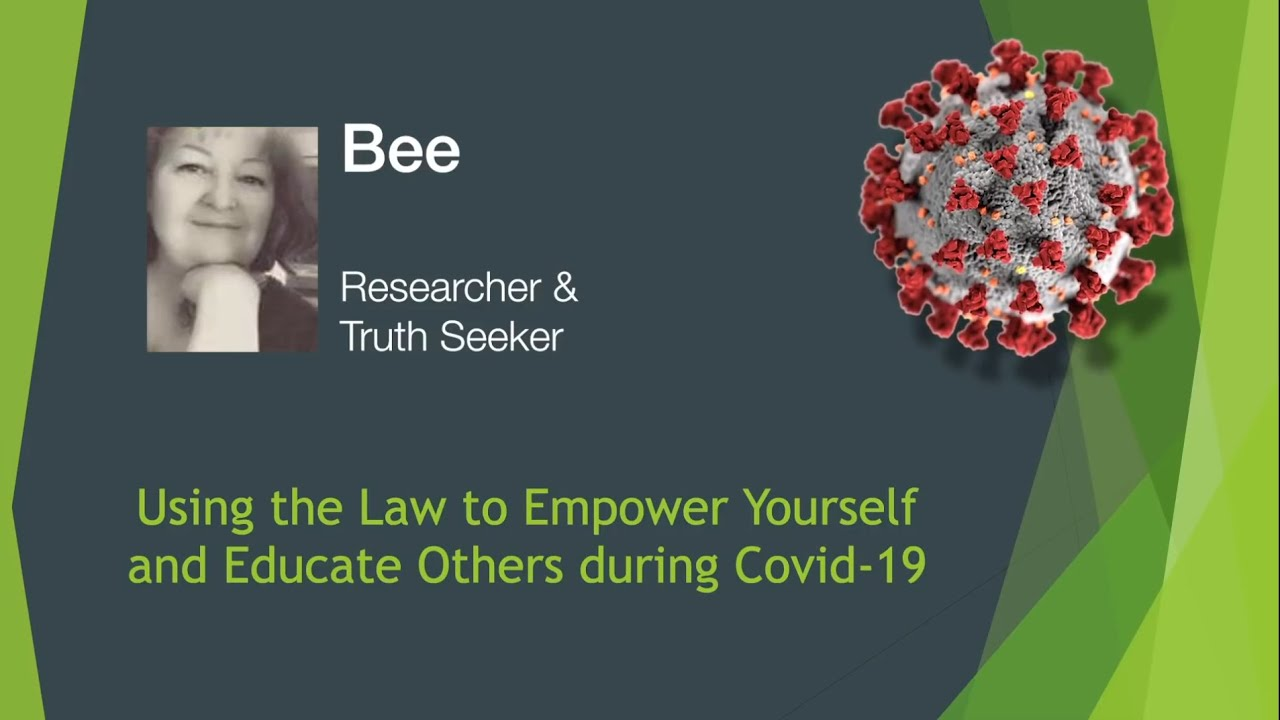 Using the Law to Empower yourself during Covid 19 12-10-2020