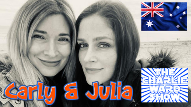 CARLY & JULIA FROM DOWN UNDER SPEAKS WITH CHARLIE WARD 23-11-2020